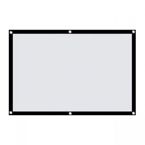 LV-STA 100RP Screen 16/9 100 Inch White/Black